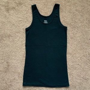 Mossimo Supply Co. Tops - Women's Slim Fit Any Day Black Tank Top